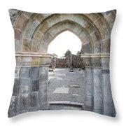 Church Portal Throw Pillow