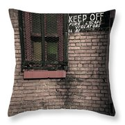 Church Property Throw Pillow