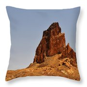 Church Rock Arizona - Stairway To Heaven Throw Pillow by Christine Till