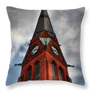 Church Spire Hdr Throw Pillow