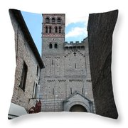 Church St. Philibert - Tournus Throw Pillow