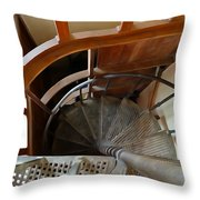 Church Stairs Throw Pillow