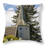 Bishopscourt Bell Tower Throw Pillow