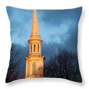Church Steeple Throw Pillow
