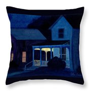 Church Street Throw Pillow