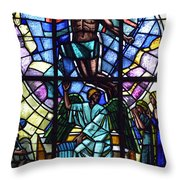 Church Window Throw Pillow by Tommytechno Sweden