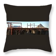 Chute And Buttes 16108 Throw Pillow