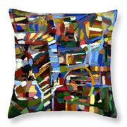 Chutes And Ladders Throw Pillow