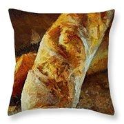 Ciabatta Throw Pillow