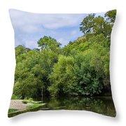 Cibolo Creek  Throw Pillow