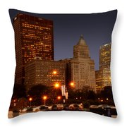 Cicago Throw Pillow