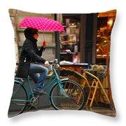 Ciclista - Milano Throw Pillow