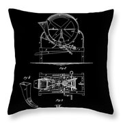 Cider Mill Patent Throw Pillow