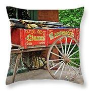 Cigar Wagon Throw Pillow