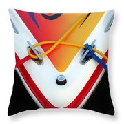 Cigarette Boat Detail Throw Pillow