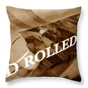 Cigars The Old Fashion Way Throw Pillow