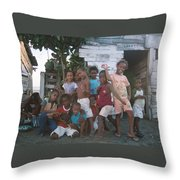 Cildren Of The Coast Throw Pillow