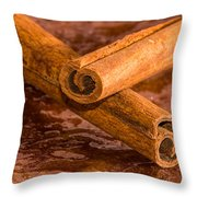 Cinamon Overdose Throw Pillow