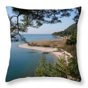 Cinar Beach Throw Pillow