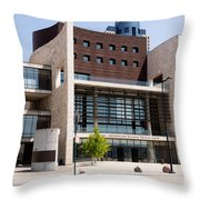 Cincinnati National Underground Railroad Freedom Center Throw Pillow by Paul Velgos