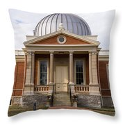 Cincinnati Observatory In Cincinnati Ohio Throw Pillow by Paul Velgos