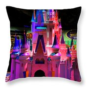 Cinderellas Castle Number One Throw Pillow