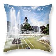 Cinderella's Home Throw Pillow