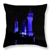 Cinderellas Night Throw Pillow