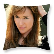 Cindy Two Throw Pillow