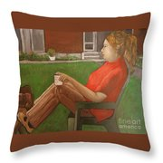 Cindy's Day Throw Pillow