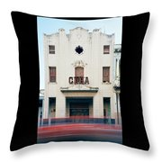 Cinema Cuba Throw Pillow