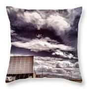 Cinema Verite Throw Pillow