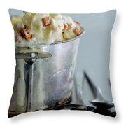 Cinnamon Toast Ice Cream Throw Pillow