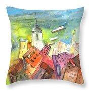 Cinque Terre 03 Throw Pillow