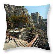 Cinque Terre 15 Throw Pillow
