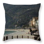 Cinque Terre 7 Throw Pillow
