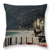 Cinque Terre 8 Throw Pillow