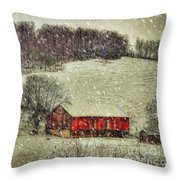 Circa 1855 Throw Pillow by Lois Bryan