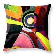 Circle Abstract #4 Throw Pillow