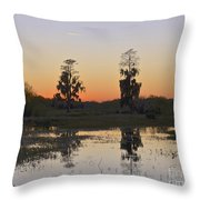 Circle B Sunset Throw Pillow