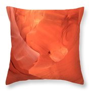 Circle In The Sandstone Throw Pillow