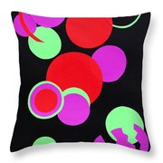Circle Study One Throw Pillow