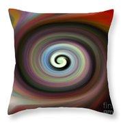 Circled Carma Throw Pillow