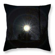 Circles Around The Sun Throw Pillow