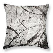 Circles Throw Pillow by Brett Pfister