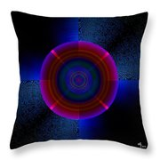 Circles In A Square 5 Throw Pillow