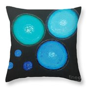 Circles Of My Mind Throw Pillow