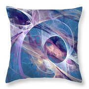 Circling The Divine Throw Pillow