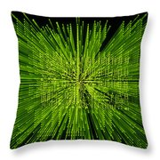 Circuit Zoom Throw Pillow by Jerry McElroy