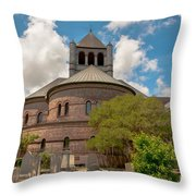 Circular Congregational Church  Throw Pillow